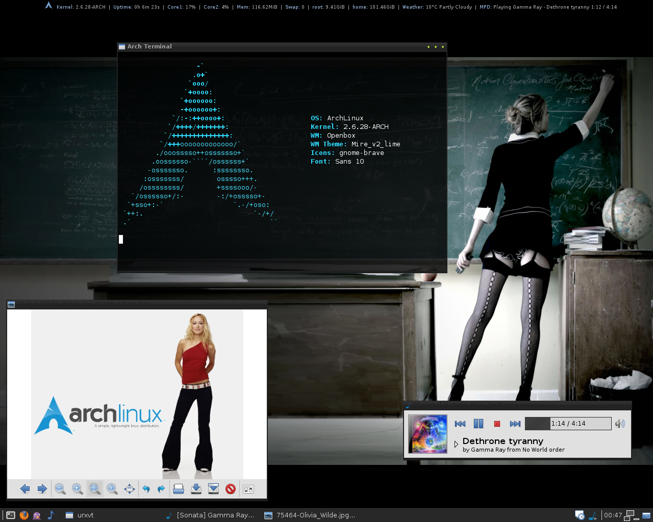 how to delete a fine in arch linux