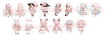 [OTA OPEN] Pink Gaia Adopts by ghostled