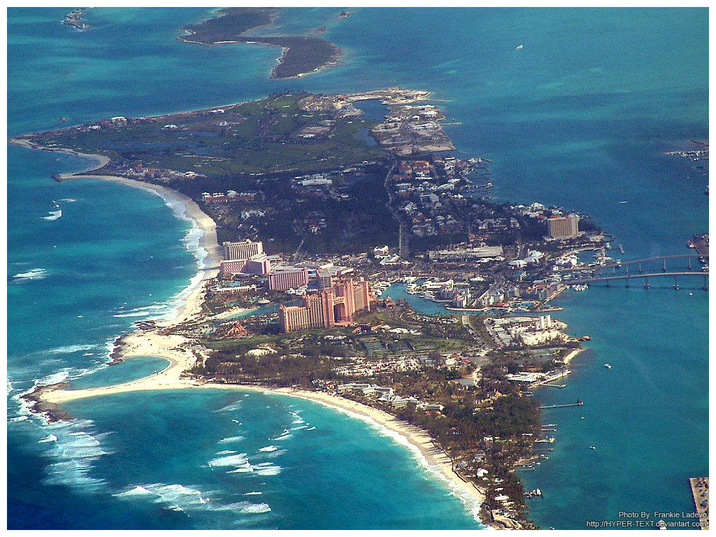 Paradise Island :Aerial Shot: by hyper-text