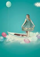 Sailing in the Sky by oliviaariferiani