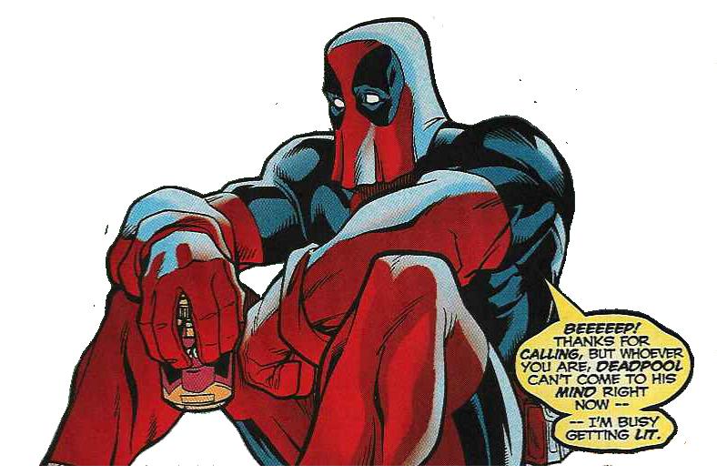 Deadpool Unmasked Dead...