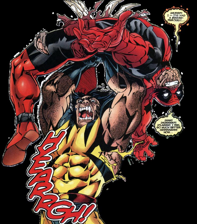 Deadpool Render 25: Wolverine by GreyBeardLegend