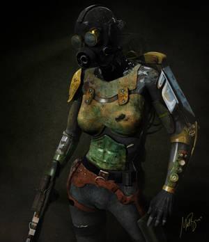 Battle vixen masked