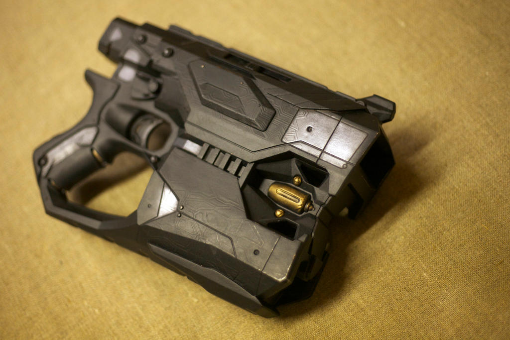 bat-grapple movie prop gun pistol batman nerf by billy2917 ...