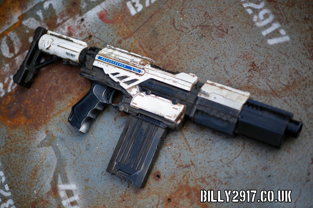 nerf call of duty peacemaker by billy2917 ...