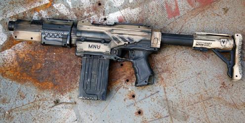 MNU desert assault rifle