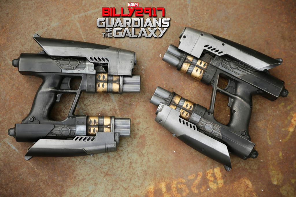 guardians of the galaxy star lord blasters by billy2917 ...