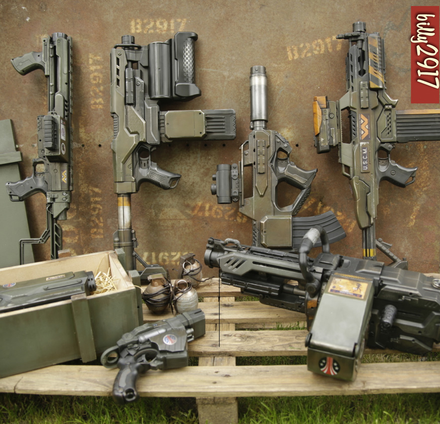 colonial marines guns by billy2917