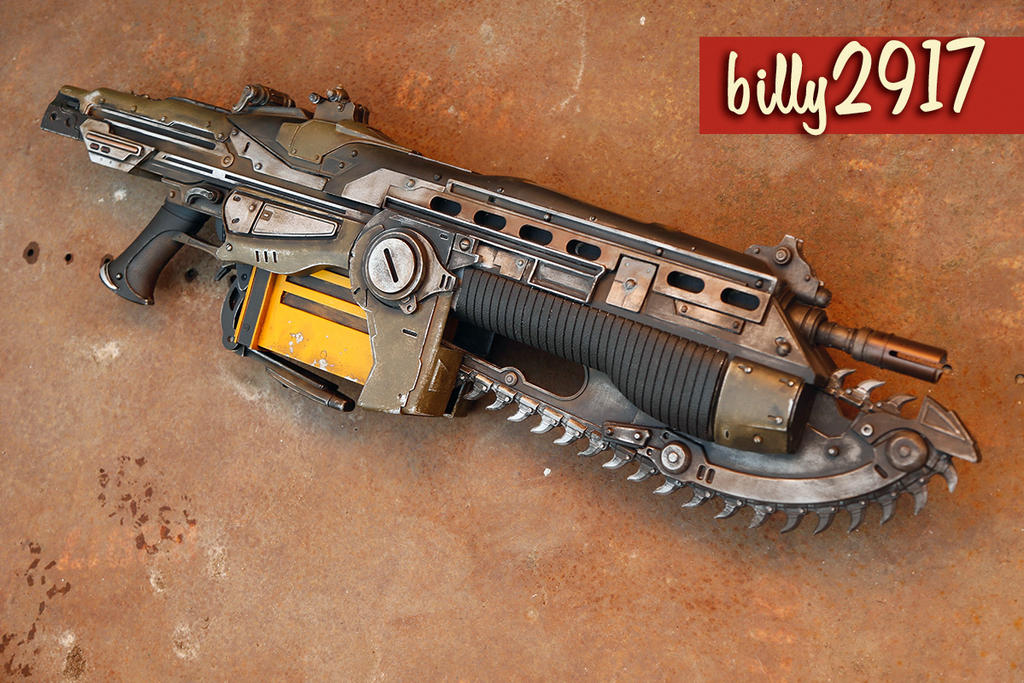 gears of war lancer by billy2917