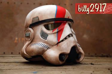 star wars stormtrooper ziggy stardust helmet by billy2917