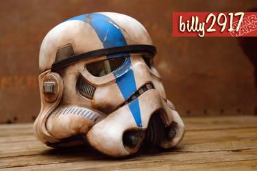 Star wars stormtrooper commander helmet by billy2917