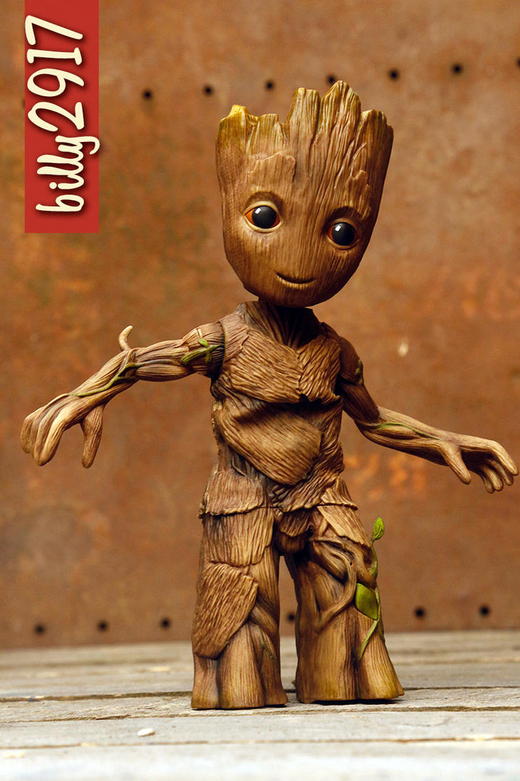 dancing baby groot by billy2917