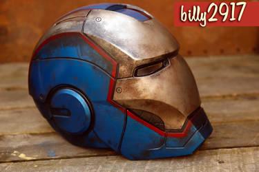 iron patriot helmet by billy2917