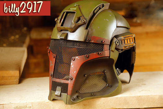 star wars boba fett airsoft helmet by billy2917