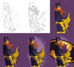Batgirl - Process