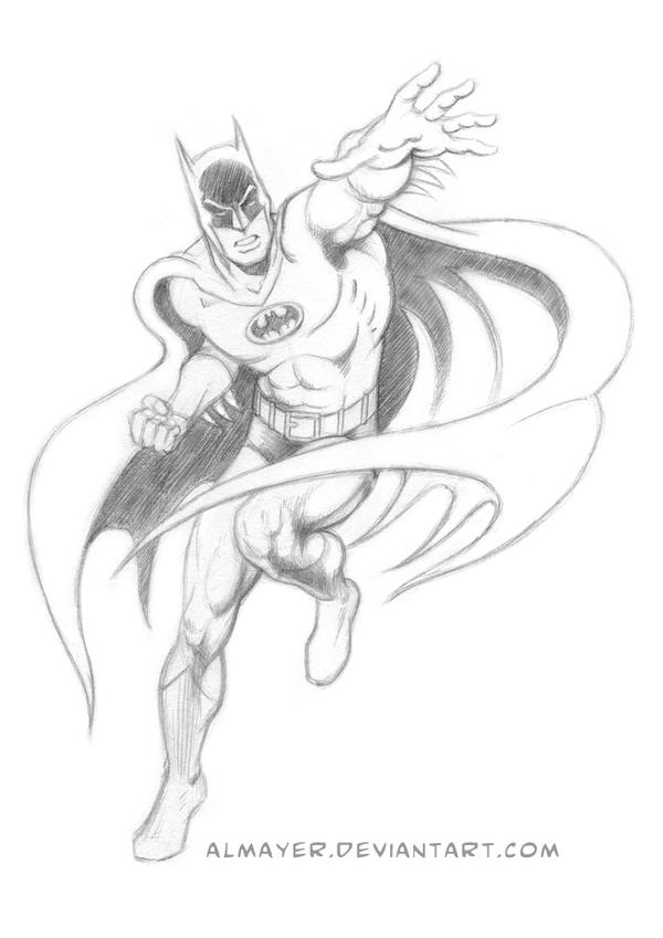Another Batman study from Garcia-Lopez by Almayer on