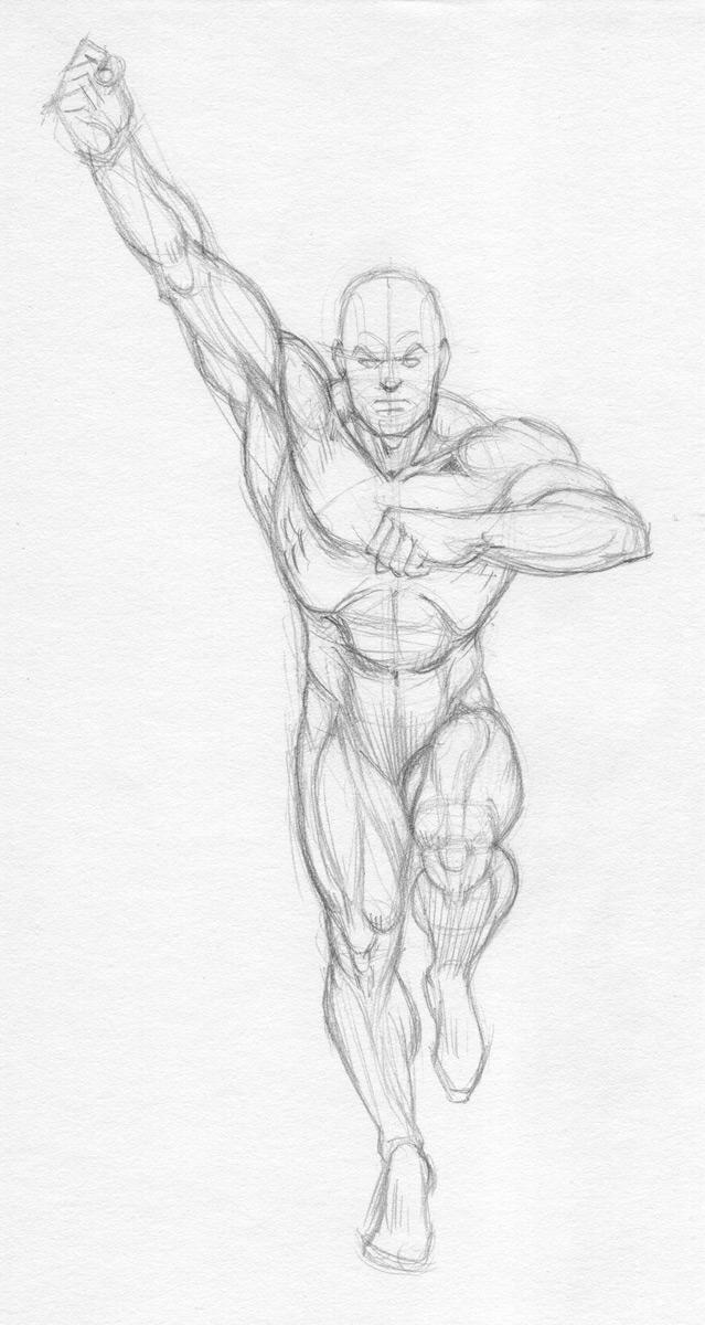 Garcia Lopez Batman Anatomy by Almayer