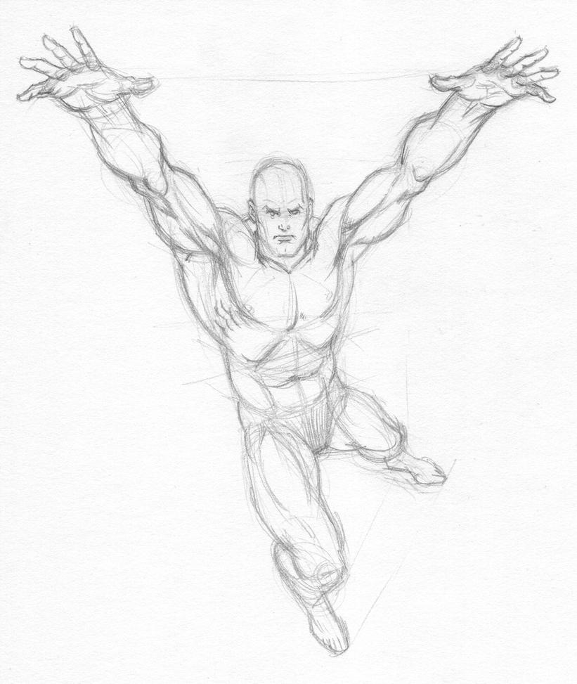 Garcia Lopez Superman Anatomy by Almayer