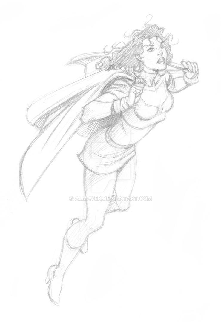 Tesla Strong Sketch from JLGL by Almayer