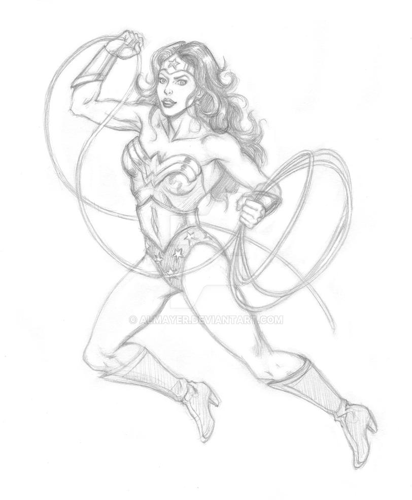 Garcia-Lopez Style Wonder Woman by Almayer