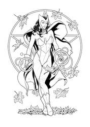 Scarlet Witch - Ink