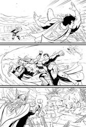 Superman vs. Thor, page 1