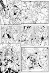 Superman vs. Thor, page 2 by Almayer