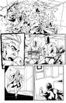 Lion Forge's Superb #14 Inks, page 7