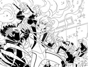 Superb issue 17, pages 6 and 7 inks