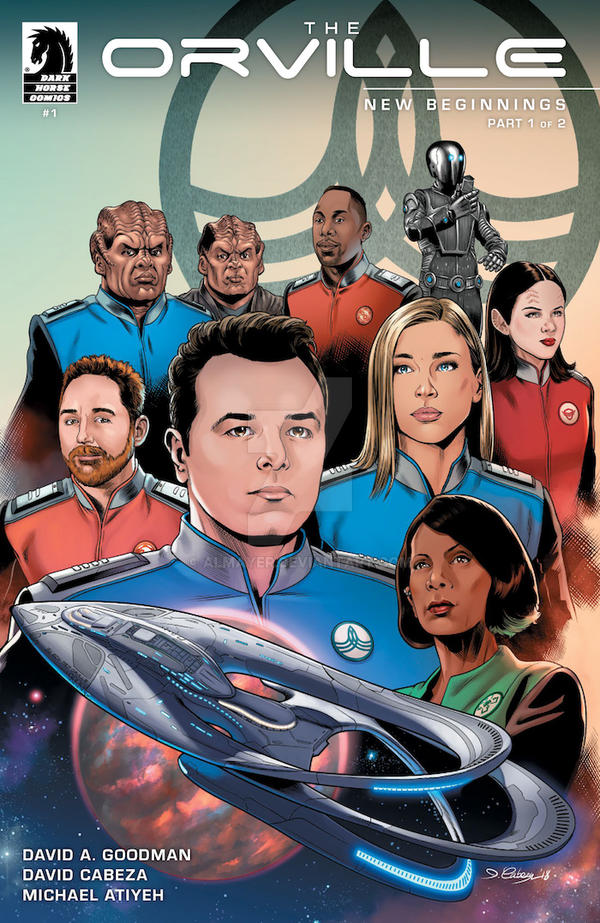 The Orville issue 1 cover by Almayer