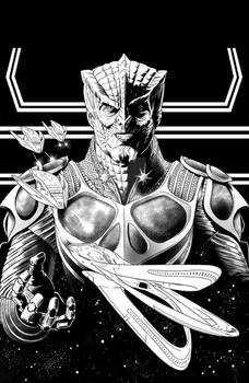 The Orville issue 4 cover inks