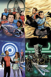 The Orville miniseries covers