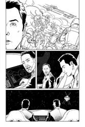 The Orville issue 1 page 6 inks