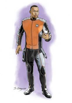 The Orville - J Lee as Lt. Commander John Lamarr