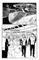 The Orville Artifacts part 1, page 1 inks