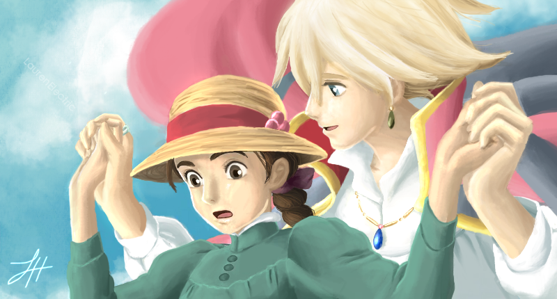 Howls Moving Castle by LaurenElectric