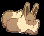 Small and Sleepy - Eevee