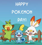 HAPPY POKEMON DAY! (Sword/Shield)