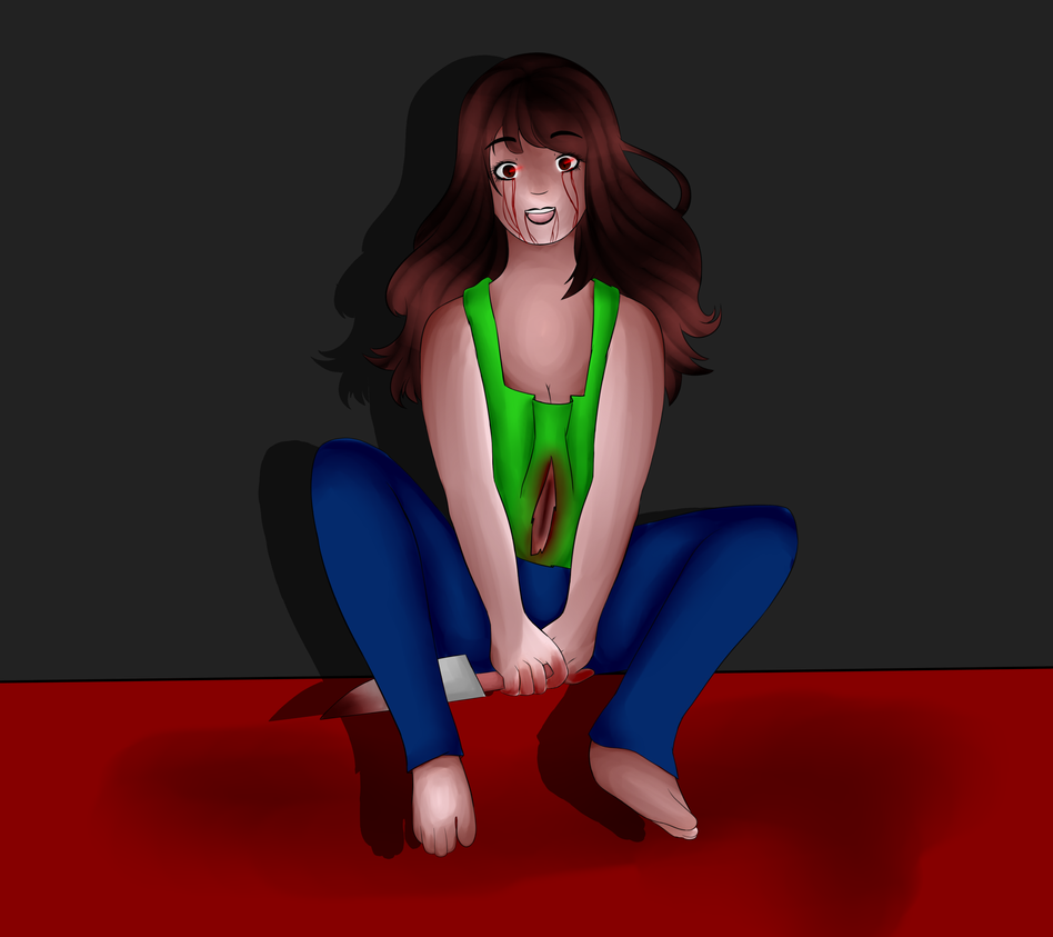 Creepy Me ! by helatherabbit08