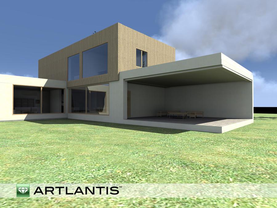 Modern House  3d Model, 2 Shot By Wielkiolkus ...