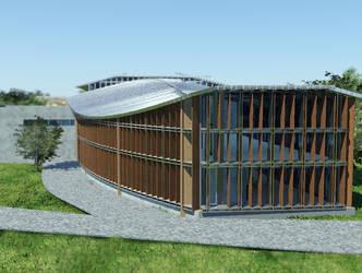 Culture center in Opoczno visualisation 6 by wielkiolkus