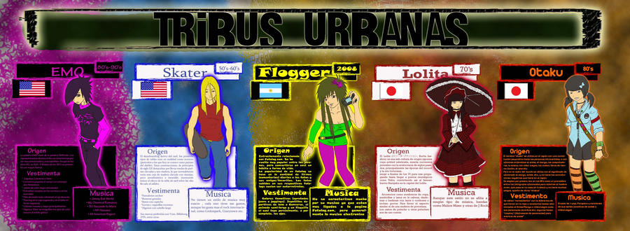 Tribus Urbanas by Puaz