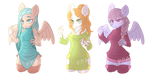 Cute Anthro Ponies Auction [OPEN - 1/3] by ponyponeadopts