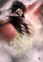 Eren Jaeger titan form by AnetaChalimoniuk