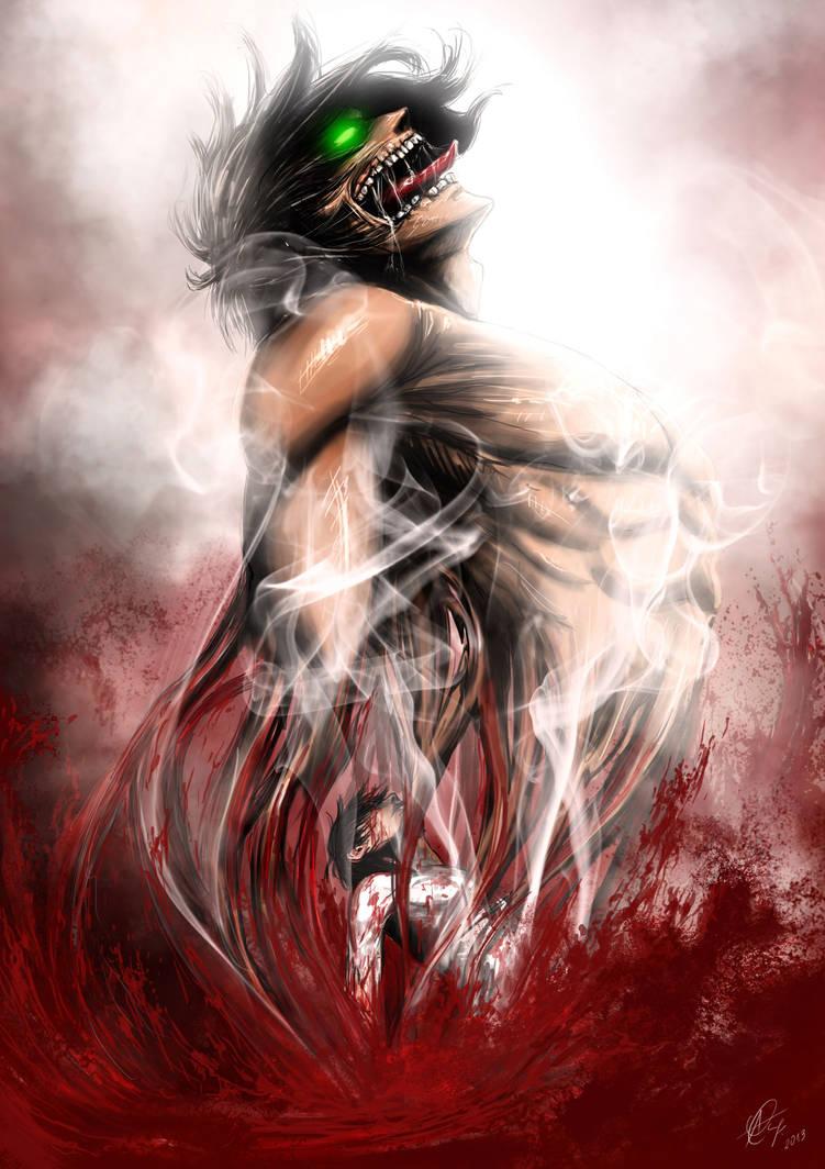 Wrath of the titan by AnetaChalimoniuk