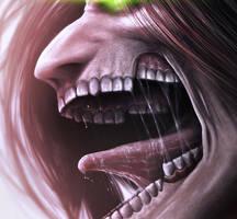 Eren Jaeger AoT closeup by AnetaChalimoniuk