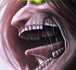 Eren Jaeger AoT closeup