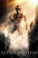 Attack on Titan poster by AnetaChalimoniuk