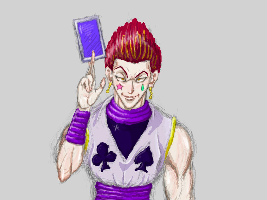 My Hisoka 2 (WIP) by Gagurum