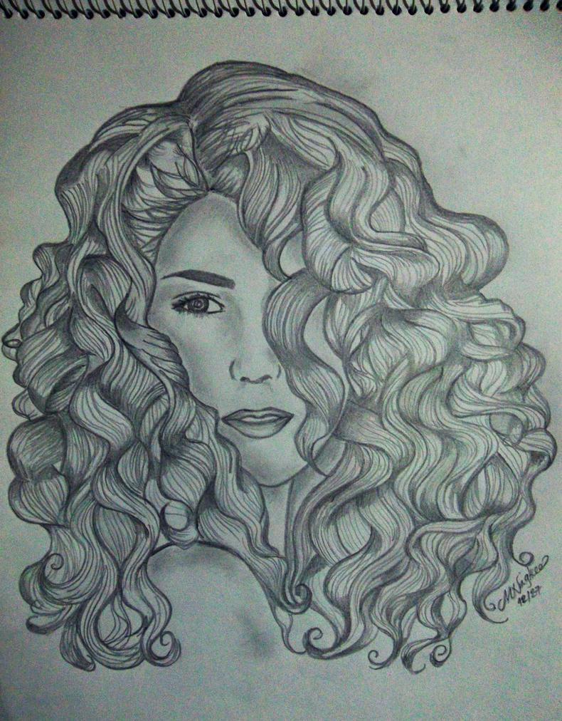 Natural curls by Ningk3 on DeviantArt
